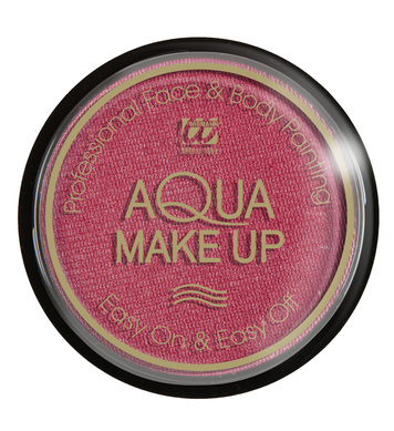 AQUA MAKEUP 15g - METALLIC PINK