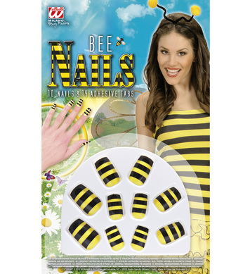 SET OF 10 BEE NAILS