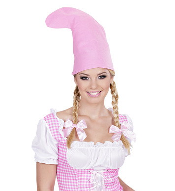 PINK GNOME HAT