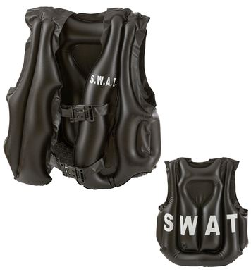 INFLATABLE SWAT BULLETPROOF VEST - CHILD