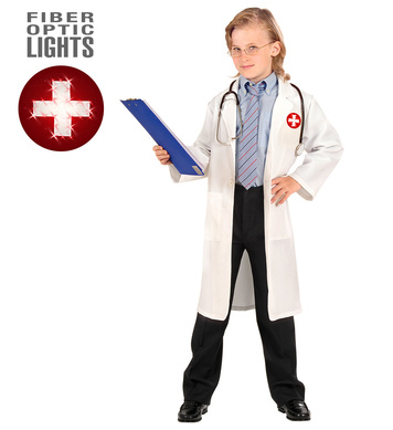 DOCTOR COSTUME F/OPTIC (coat) Childrens