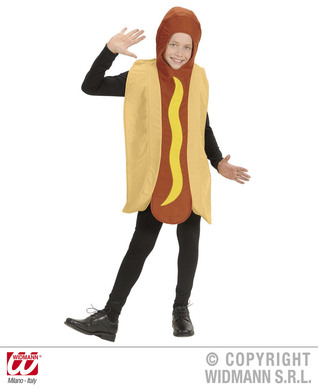 HOTDOG COSTUME - CHILD SIZE (jumpsuit)