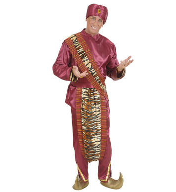 MAHARAJA (coat pants belt sashes turban)