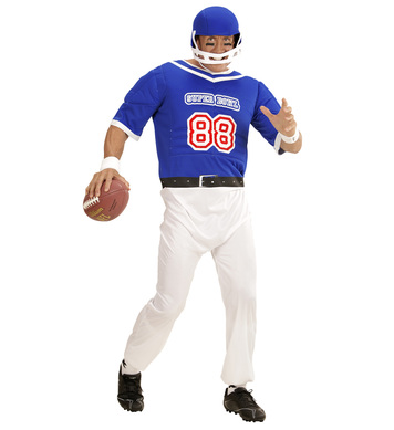 AMERICAN FOOTBALL PLAYER (overalls helmet)
