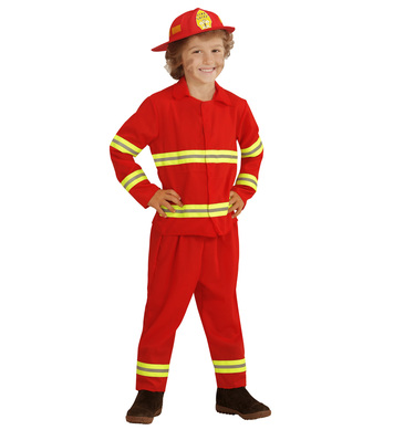 FIREFIGHTER (jacket pants helmet) Childrens