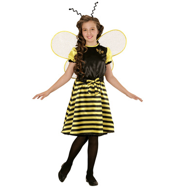BEE (dress underskirt bow belt wings antennas) Childrens