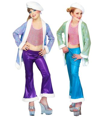 JAZZ FUNKY - TEEN (top pants coat hat)