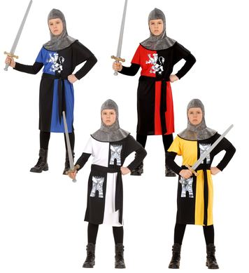MEDIEVAL WARRIOR (coat belt hood) Childrens