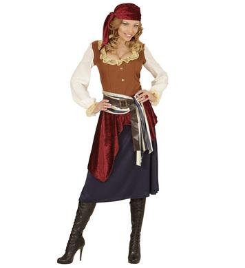 CARIBBEAN BUCCANEER (dress sash belt bandana)
