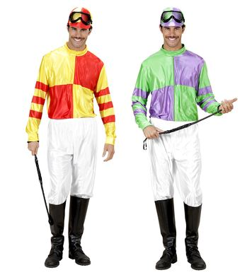 JOCKEY red/yell or grn/purple (top pants bootcovers hat)
