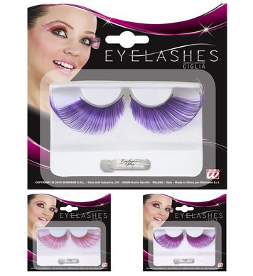 EYELASHES EXTRALONG MECHED COLOUR - 3 colours