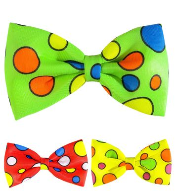 DOTTED BOW TIES - 3 colours