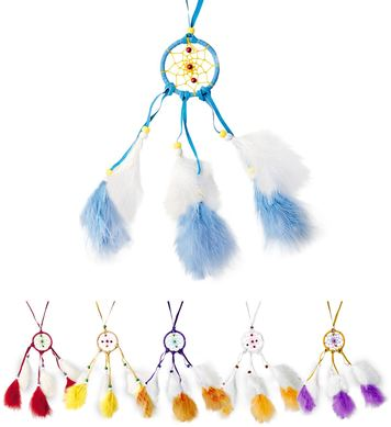 DREAMCATCHER NECKLACE FEATHERED