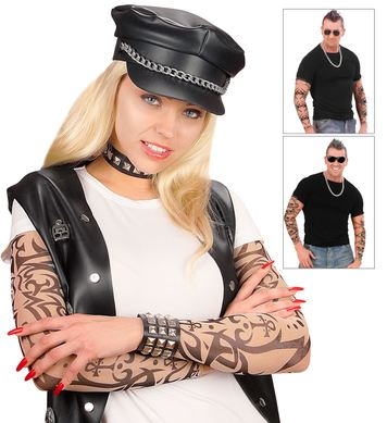 TATTOO SLEEVES NATURAL LOOK - PAIR