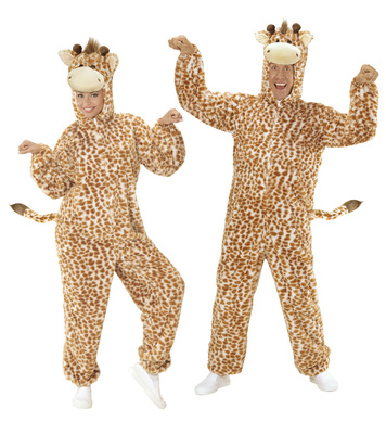 PLUSH GIRAFFE (hooded jumpsuit with mask)