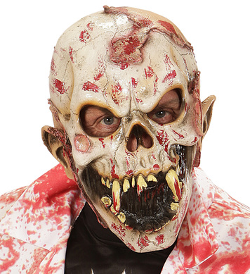 BLOODY HUMAN EATER ZOMBIE 3/4 MASK