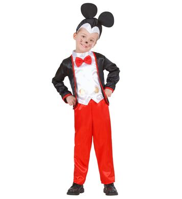 MOUSE BOY (jacket w/vest bowtie,pants,h/piece) Childrens