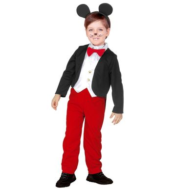 MOUSE BOY (tailcoat with vest,pants, bow tie,ears) Childrens