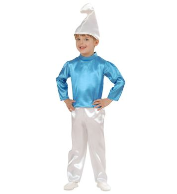 BLUE DWARF COSTUME (coat pants,hat) Childrens