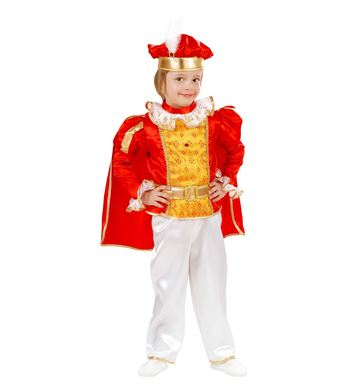 FAIRYLAND PRINCE (coat with cape, pants, belt, hat) Childrens