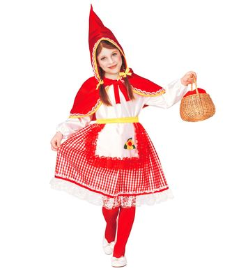 LITTLE RED RIDING HOOD (dress, belt, hoodedcapelet) Childrens