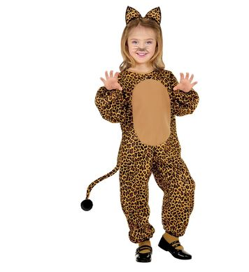 LITTLE LEOPARD COSTUME (jumpsuit, ears) Childrens