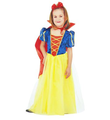 FAIRYLAND PRINCESS (dress, cape, hair-ribbon) Childrens