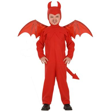 DEVIL (jumpsuit hat wings) Childrens