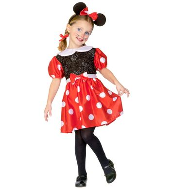 LITTLE MOUSE GIRL (dress ears) Childrens