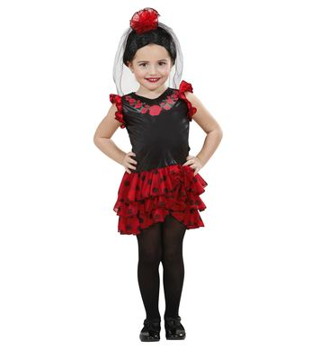 SENORITA (DRESS HEADPIECE W/VEIL) Childrens