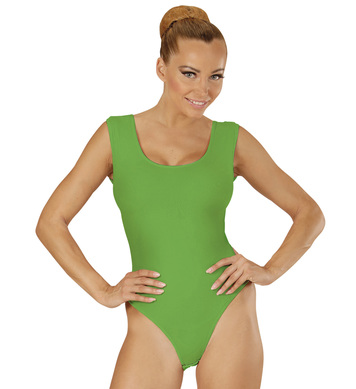 GREEN SLEEVELESS BODY (buttons closure)