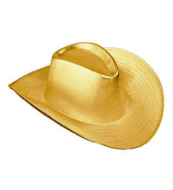 GOLD COWBOY HAT