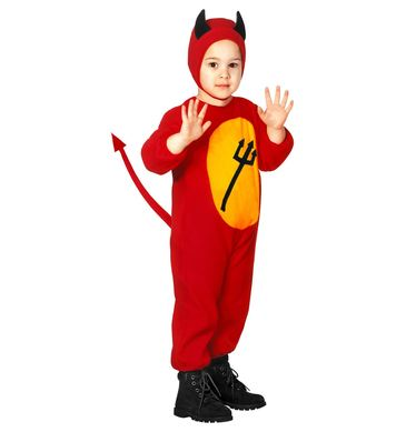 LITTLE DEVIL (jumpsuit, headpiece) Childrens