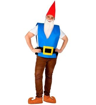 GNOME (vest with belt, hat) adult size