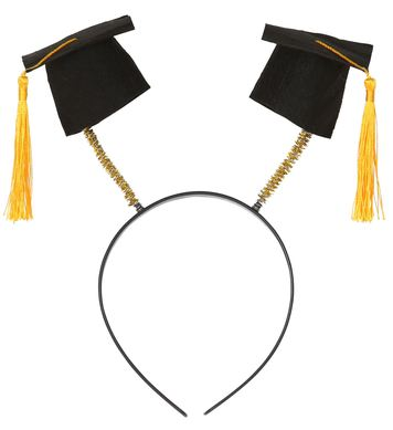 GRADUATION HATS HEAD BOPPER