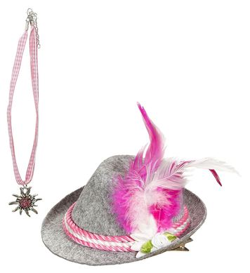 BAVARIAN (mini hat, necklace)
