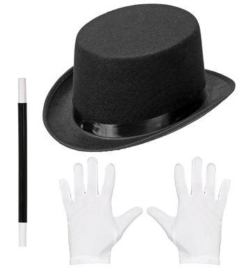 MAGICIAN (top hat, gloves, magic wand)