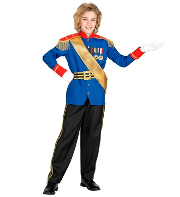 CHARMING PRINCE (jacket, pants, belt, sash) Childrens