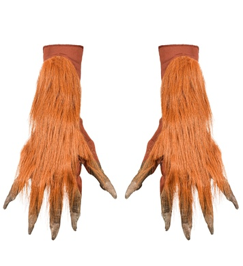 pair of WEREWOLF GLOVES WITH FUR (1Size)