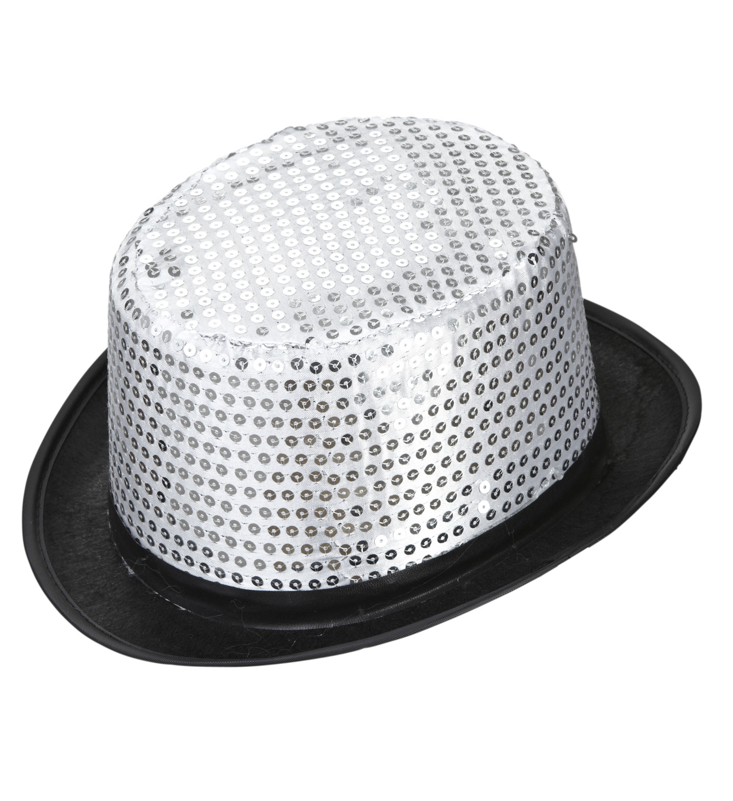 Sequin Top Hat Felt Hat Fancy Dress