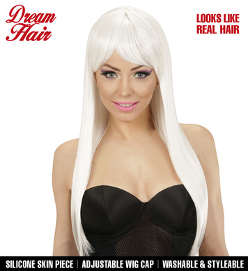 FASHION WIG - WHITE