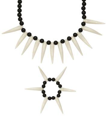 CAVEMAN JEWELLERY (necklace, bracelet)