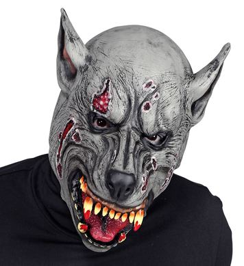 FULL HEAD MASK - WEREWOLF