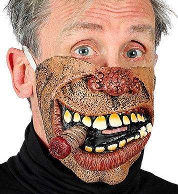 BIKER HALF FACE CHIN MASK