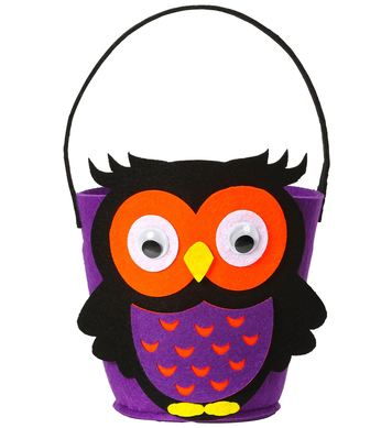TRICK OR TREAT BASKET - OWL