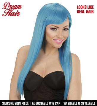 FASHION WIG - BLUE