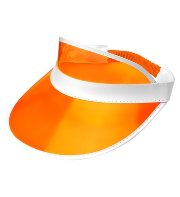 80s SUN VISOR - ORANGE (1Size)