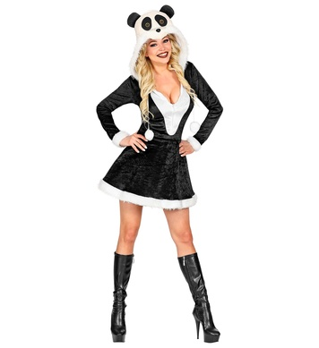 PANDA (hooded dress)