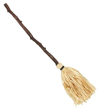 COLLAPSIBLE CROOKED WITCH BROOM 125 cm