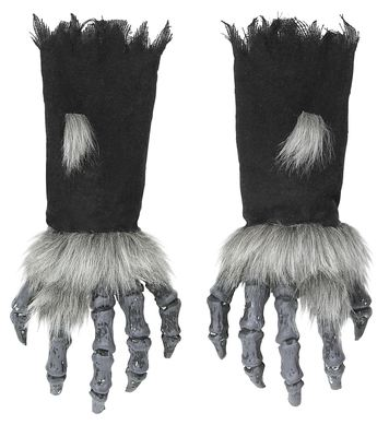 MONSTER HANDS WITH FUR & BLACK SLEEVES